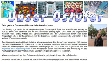 Newsletter Nr. 64 - September 2020